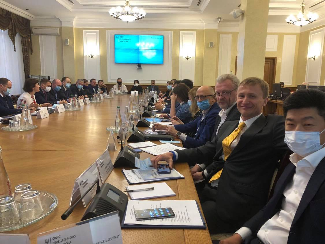 SUP took part in a meeting of business with the Prosecutor General of Ukraine and the Chairman of the Executive Committee of the National Reform Council